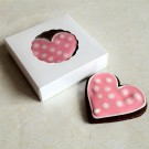 Small White Cookie Box for 1-2 Cookies ($0.95pc x 25 units)