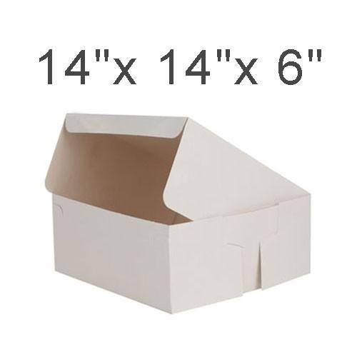 """Cake Boxes - 14"""" x 14"""" x 6"""" ($2.50/pc x 25 units)"""