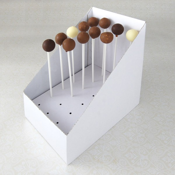 24 CAKE POP Cardboard Carry and Display Box($2.00/pc x 25 units)
