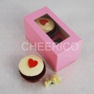 2 Cupcake Pink Window Box($1.35/pc x 25 units)