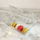 Clear Macaron Blister Box for 12 Bigger Macarons - Pack of 20 Boxes